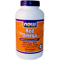 Now foods red omega red yeast rice coq10 fish oil 90 for Coq10 and fish oil