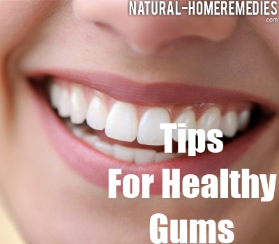 how to naturally bring down swrlling in gums
