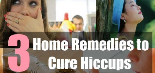 3 Home Remedies to Cure Hiccups