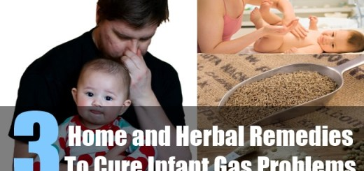 3 Home and Herbal Remedies To Cure Infant Gas Problems