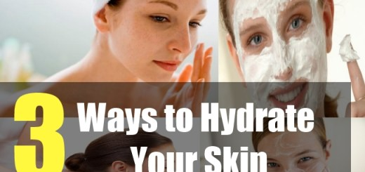 3 Ways to Hydrate your Skin