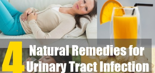 4 Natural Remedies for Urinary Tract Infection