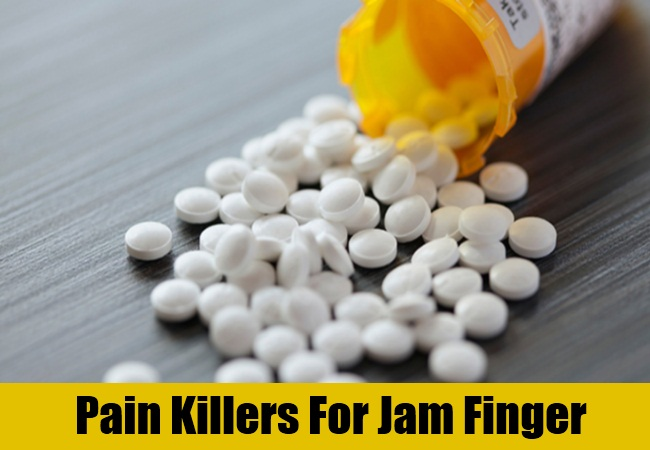 Pain Killers For Jam Finger