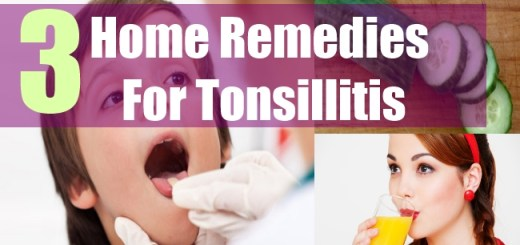 3 Home Remedies For Tonsillitis