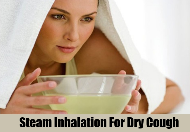 Steam Inhalation For Dry Cough