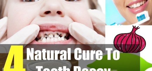 4 Natural Cure To Tooth Decay