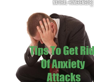 how to stop anxiety attacks naturally