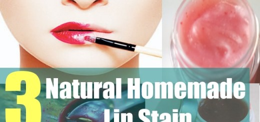 3 Natural Homemade Lip Stain