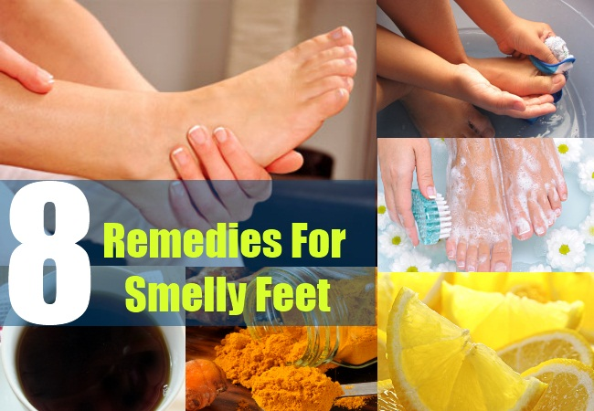 8 Remedies For Smelly Feet