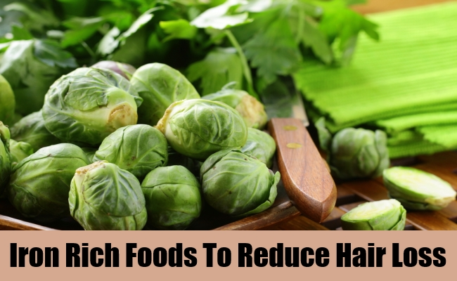 Iron Rich Foods To Reduce Hair Loss