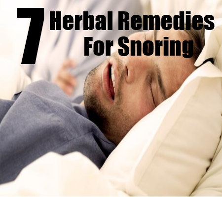 Herbal Remedies For Snoring - Herbal Cures For Snoring ...