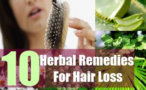 10 Herbal Remedies For Hair Loss