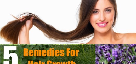 5 Remedies For Hair Growth
