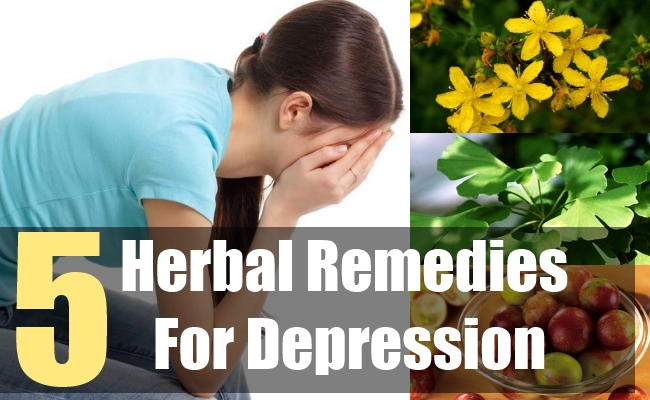 5 Herbal Remedies For Depression