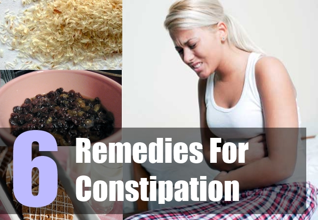 6 Home Remedies For Constipation