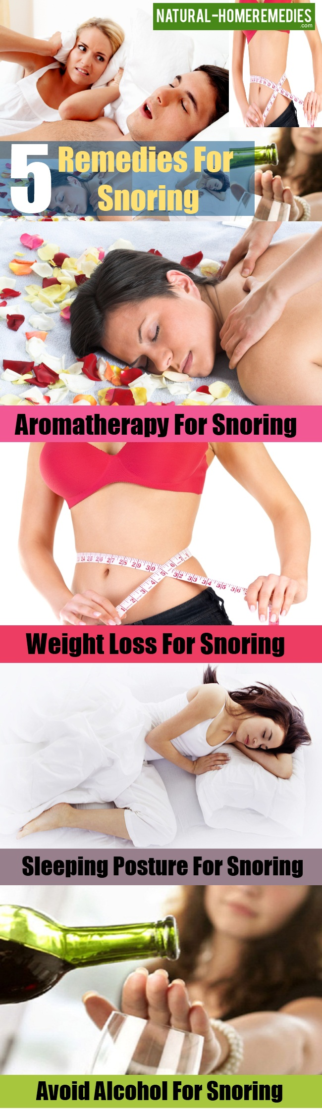 Free Home Remedies For Snoring