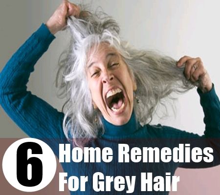 How To Get Rid Of Grey Hair Natural Remedies