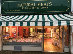 Natural Meats Shop Front