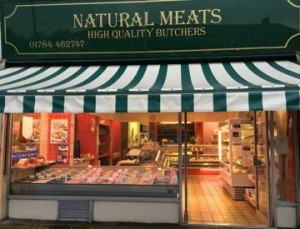 Natural Meats Shopfront