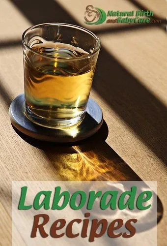 glass of laborade on table