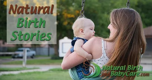 Natural Birth Stories article banner