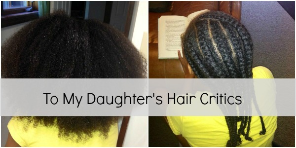 A Mother's Open Letter To The Hair Critics