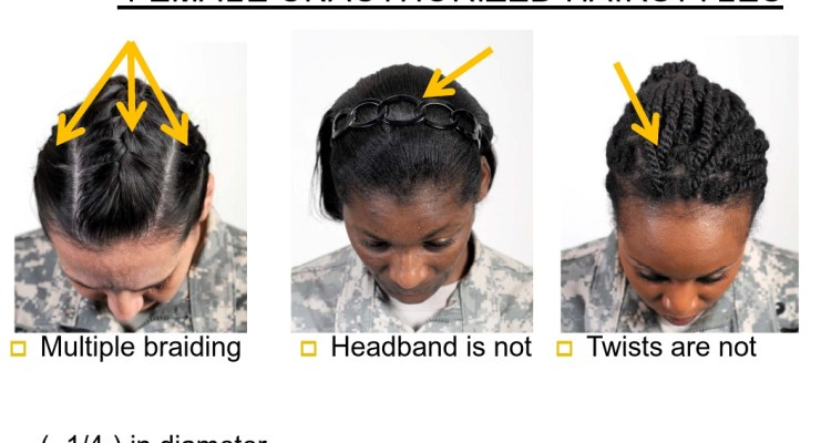 Army Bans Various Natural Hairstyles