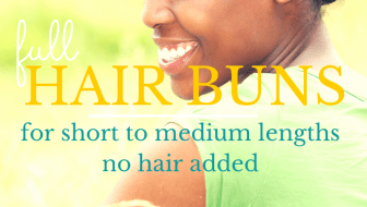 hair-buns-for-short-natural-hair