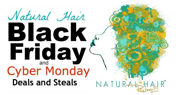 Natural Hair Black Friday and Cyber Monday Sales 2014