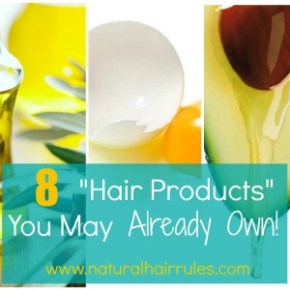 """8 """"Hair Products"""" You May Already Own In Your Kitchen"""