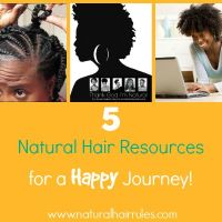 5 Natural Hair Resources for a Happy Journey