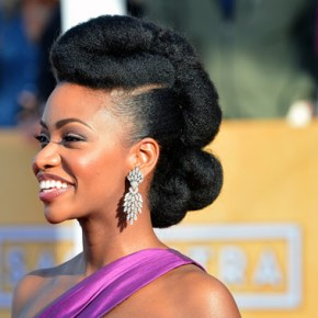 13 Natural Hair Styles by Teyonah Parris