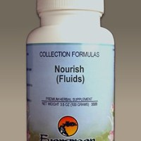 C3525 Evergreen Herbs Nourish (Fluids) Capsules 100 count Homeopathy Holistic Healthcare Natural Medicine Center Lakeland Central Florida