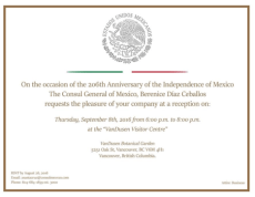 consul General Mexico reception Sept 8 2016