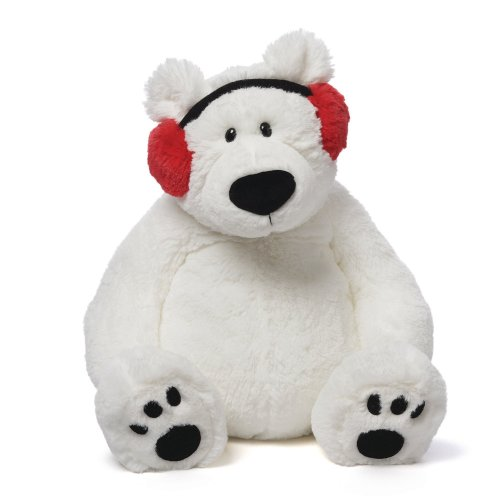 Medium Of Polar Bear Stuffed Animal