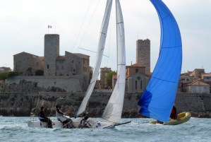 Match Racing : L'AMRA poursuit son travail à Antibes