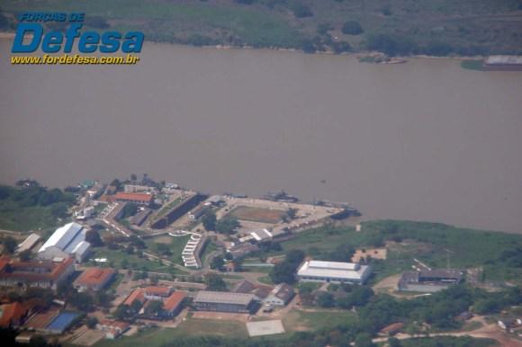 Base Fluvial de Ladário - foto Nunão - Forças de Defesa