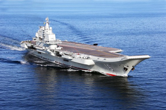 CHINA-LIAONING AIRCRAFT CARRIER-FLIGHT LANDING-J-15 (CN)