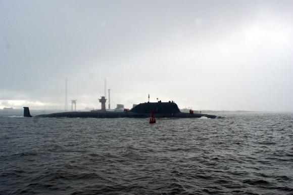 Severodvinsk K-329  (Yasen class)