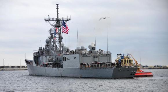USS Taylor - fragata classe Oliver Hazard Perry - foto de arquivo USN