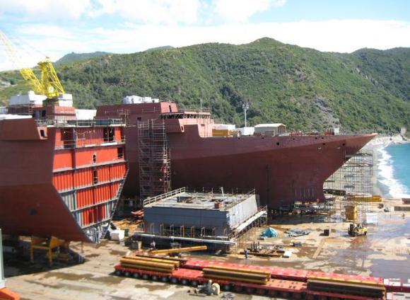 FREMM - construção na Itália - foto 5 Marinha Italiana