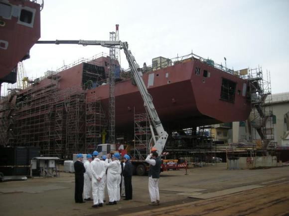 FREMM - construção na Itália - foto 8 Marinha Italiana