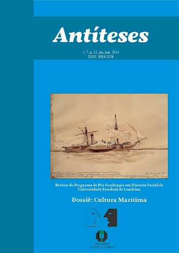 Capa Antiteses jan-jul2014 - Dossie Cultura Maritima