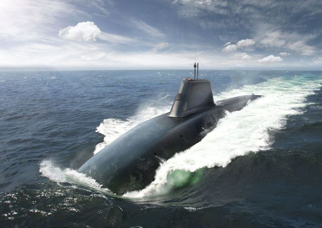Concepção do SSBN Successor