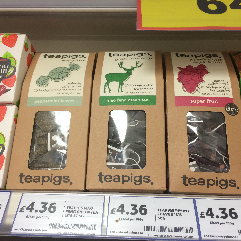 ロンドンお土産 アイディア チョリソーと紅茶
