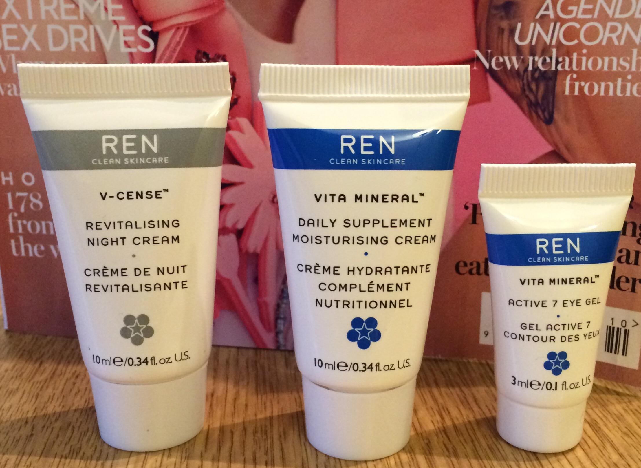 イギリスセール情報自然派基礎化粧品Ren20%Off♪