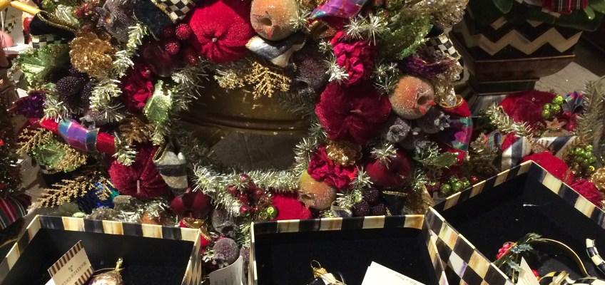 ロンドンフォートナム&メイソンのクリスマスショップ
