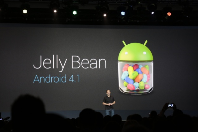 Android 4.1 Jelly Bean anunciado en Google I/O 2012