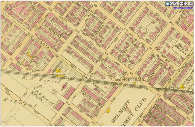 Atlas of the City of Philadelphia (Bromley, 1910)
