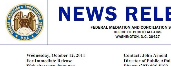 mediador federal en el lockout